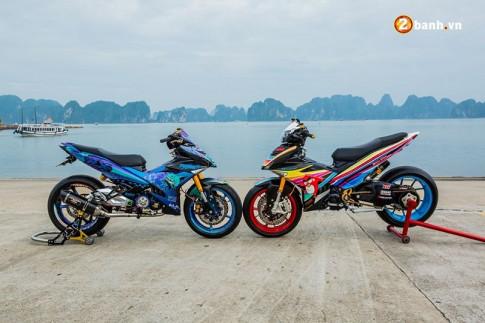 10 mau xe Exciter 150 do dep nhat Viet Nam nam 2017