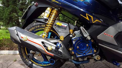 Airblade 125 độ độc không đụng hàng của biker Hà Nội