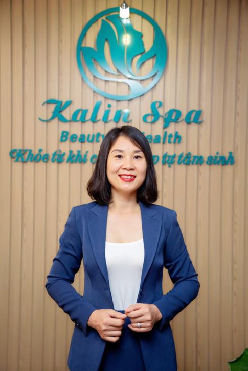 Chu thuong hieu Kalin Spa Le Oanh: Duong sinh tri lieu – gia tri hun duc tu ngan nam
