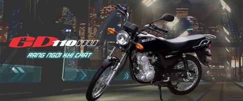 Danh gia Suzuki GD110 2017 mau Backbone hoai co cua hang Suzuki
