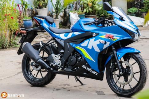Danh gia Suzuki GSX R150 - dung chuan 1 mau xe the thao