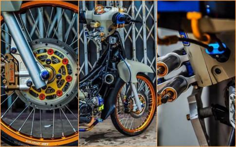 Dream EX5 Fi do kieng hai nao day dang cap cua biker nuoc ban