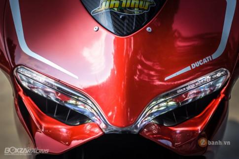 Ducati 899 Panigale dep kinh dien trong ban do day tinh te va dang cap