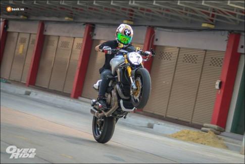 Ducati Monster 1200S do xung danh 'quy dau dan' gia dinh Monster
