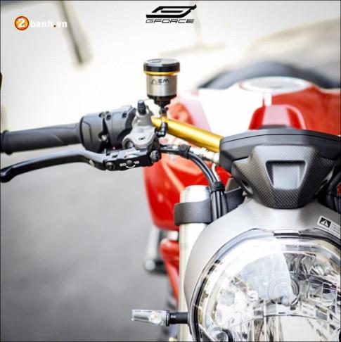 Ducati Monster 821 Vẻ đẹp hào nhoáng qua body cơ bắp