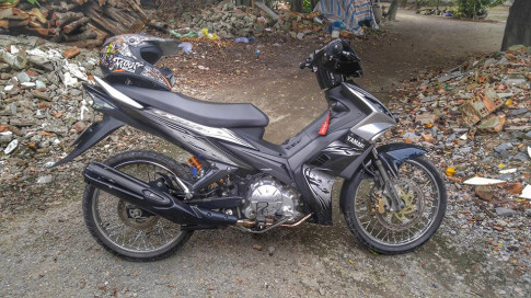 Exciter 135 do hack nao voi phong cach cua sung lam nghe