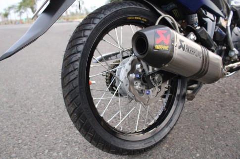 Exciter 135 do khung voi tao hinh nguyen ban tu biker Viet