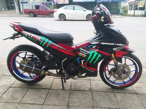 Exciter 150 do kieng lot xac theo tung ngay cua biker Thailand