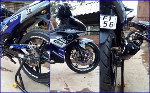 Exciter 150 do kieng tinh te day don gian cua biker Phu Yen