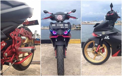Exciter 150 do kieng voi cac mon do choi Racing boy cua biker Thailand