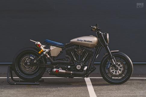 Harley-Davidson lot xac day ngoan muc voi dan option danh gia