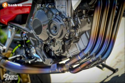 Honda CB650F do chuan den tung centimet cua Biker Thai