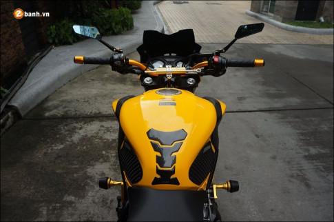Honda CB650F do- Gao vang hoa than cuc chat tu Biker Thai