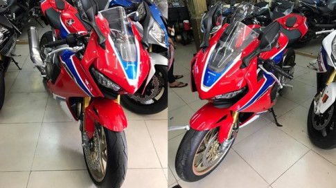 Honda CBR1000RR SP2 2017 sieu pham thu 2 vua ha canh tai Viet Nam