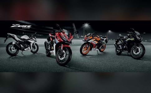 """Honda CBR150R """"thống lĩnh"""" phân khúc 150 so với đồng hương Yamaha R15 và Suzuki GSX-R150"""