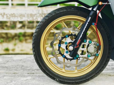 Honda Click 125i do chat voi do choi hang hieu cua biker Dong Nai