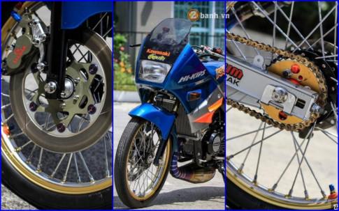 Kawasaki Kips 150 do kieng hang hieu cua biker nuoc ban