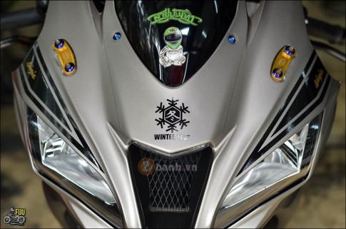Kawasaki Ninja ZX-10R độ phong thái chiến binh mùa đông