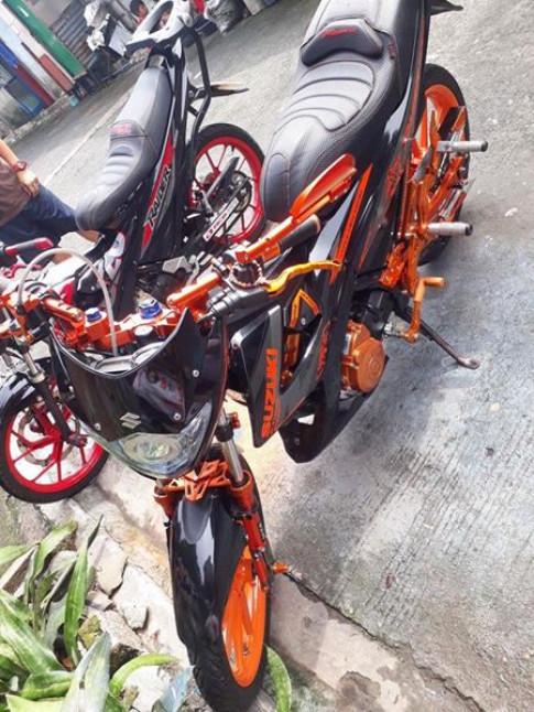 Raider 150 do full do choi cua mot Biker Philippines