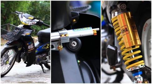 Sirius 110 do kieng nhe day tre trung cua biker Tien Giang