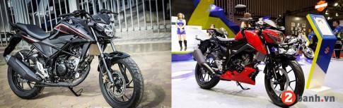 So sanh Honda CB150R voi Suzuki GSX-S150