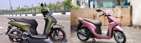 So sánh vision 2017 với janus 2017 mẫu xe tay ga cho nữ nào đáng mua hơn?