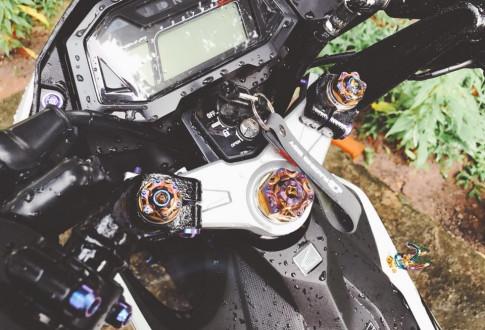 Sonic 150R do don gian dep den la ki cua biker Tay Ninh