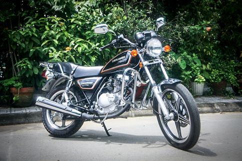 Suzuki GN125 2017 ve Viet Nam voi gia ban hon 40 trieu dong