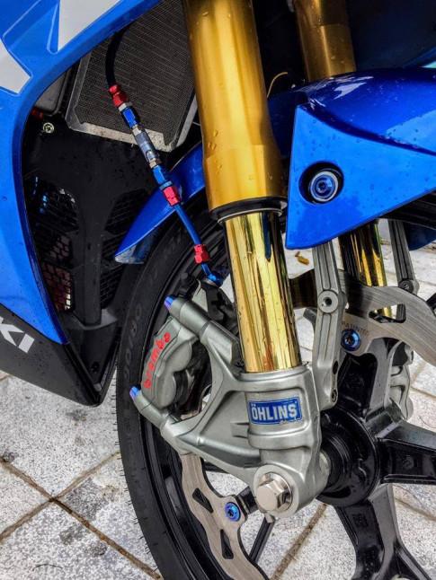 Suzuki GSX-R150 ban do chuan tung ' Cen ' cua dan choi Viet