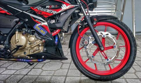 Suzuki Raider Fi voi goi do day hieu nang va dang cap cua biker Viet