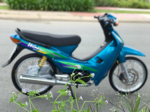 Wave 110cc con xe già hơn 20 tuổi tâm huyết của Biker Sài Gòn
