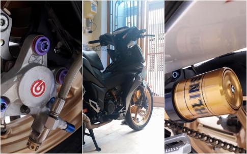 Winner 150 do day phong cach tao an tuong cua biker Can Tho