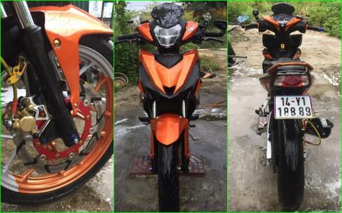 Winner 150 do dep nhat lo than voi sac cam noi bat cua biker Quang Ninh