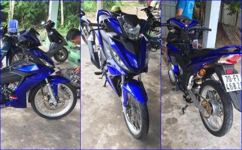 Winner 150 do kieng don gian day cung cap cua biker Tay Ninh