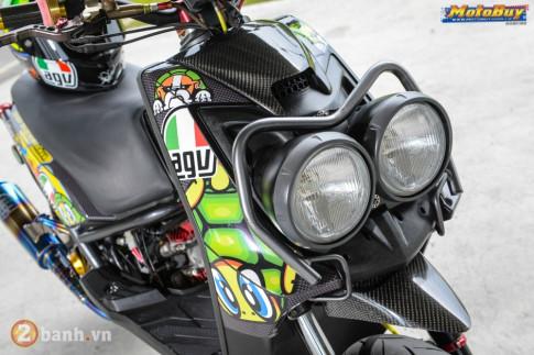 Yamaha BW'S phong cách VR46 với gói nâng cấp cực độc của biker Đài Loan