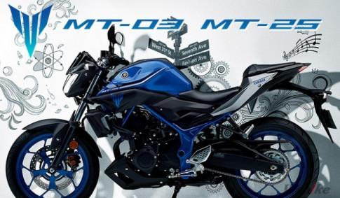 Yamaha MT-25 2017 với thiết kế thay đổi nhẹ tại thị trường Indonesia