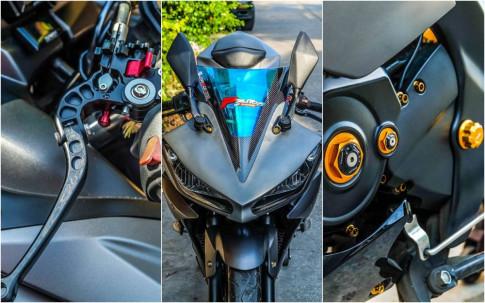 Yamaha R15 do kieng nhe khoe dang cua biker nuoc ban