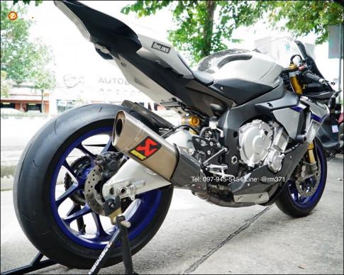 Yamaha R1M do phien ban danh cho duong dua