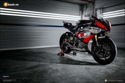 Yamaha R6 độ ngỡ ngàng cùng phong cách chạy sân
