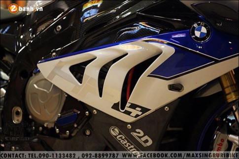 BMW HP4 Cá mập quyền năng trong thân hình Carbon hóa đậm chất chơi