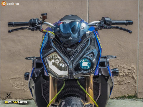 BMW S1000R hoa than cuc khung tu thuong hieu Nakebike Motorard