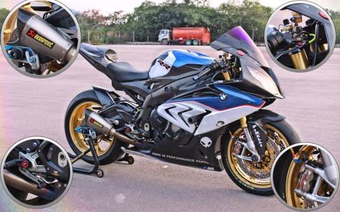 BMW S1000RR chiến mã tâm huyết full option