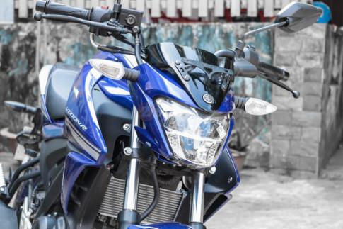 Can canh Yamaha Fz155i dau tien tai Viet Nam voi gia 8x trieu Dong