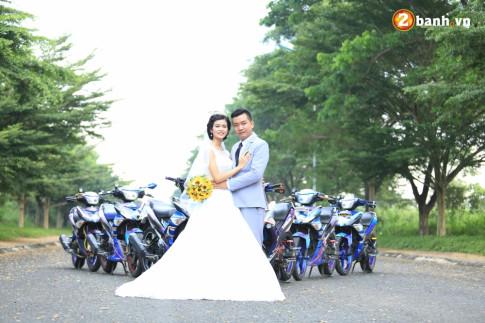 Cặp đôi đáng yêu bên đội hình Exciter 150 độ của Club Exciter Tân Phú - Đồng Nai