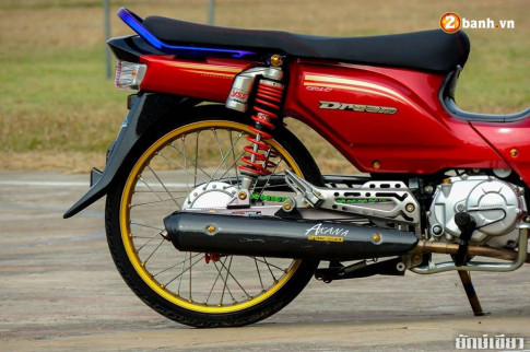 Chiêm ngưỡng Honda Cub Fi độ chân dài đầy gợi cảm của nước bạn