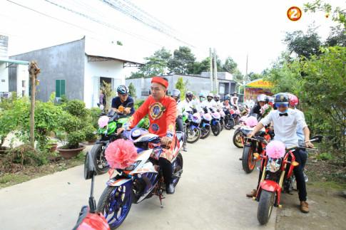 Club Exciter Tân Phú - Đồng Nai rước dâu bằng Exciter với đội hình cực đẹp