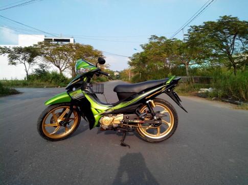 Cung hoai niem ve Jupiter do sieu dep cua Biker Dong Thap