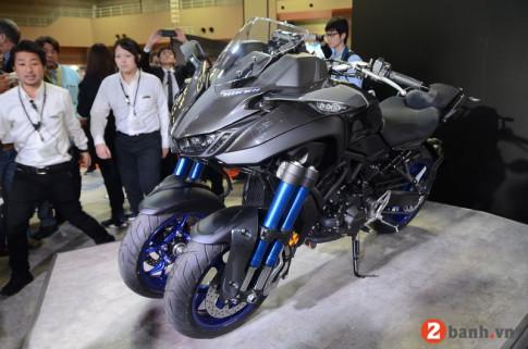 Đánh giá Yamaha Niken mô tô 3 bánh viễn tưỡng mới ra mắt