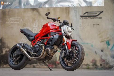 Ducati Monster 797 do ham ho tu thuong hieu do choi cao cap