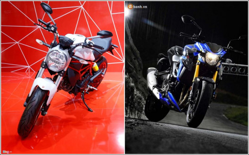 Ducati Monster 797 vs Suzuki GSX-S750 phan dinh ke thang nguoi thua phan khuc Nakedbike tam trung